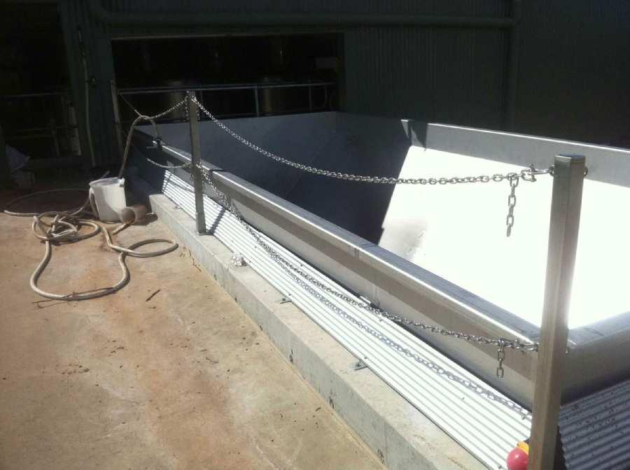 Stainless Steel Welding Installation