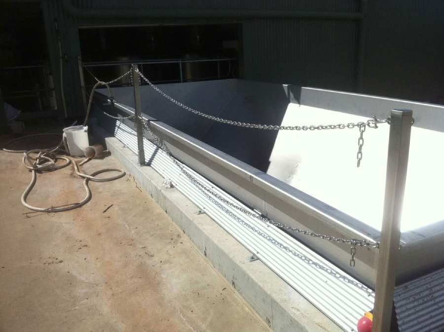 Stainless Steel Welding Installation
